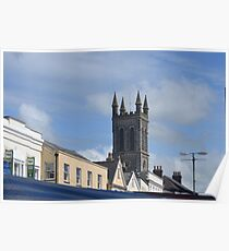 Roof Tops Of Honiton Devon Poster