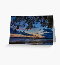 Beaufort Harbor Sunset Greeting Card