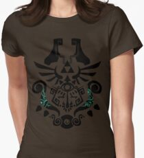 Legend of Zelda (mashup) Womens Fitted T-Shirt