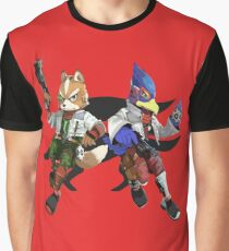 Fox and Falco Graphic T-Shirt
