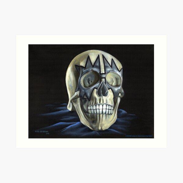 KISS Skull: The Spaceman Art Print