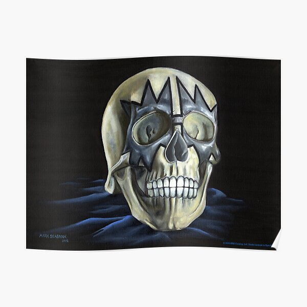 KISS Skull: The Spaceman Poster