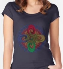 The Circle of Inheritance Women's Fitted Scoop T-Shirt