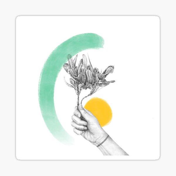June Bouquet Sticker