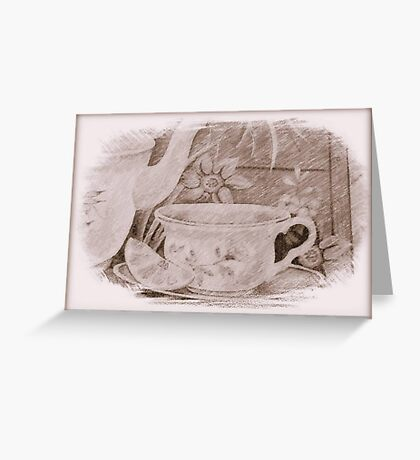 Tea Time © Greeting Card