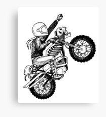 Women Who Ride - Dare Devil Canvas Print