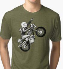 Women Who Ride - Dare Devil Tri-blend T-Shirt