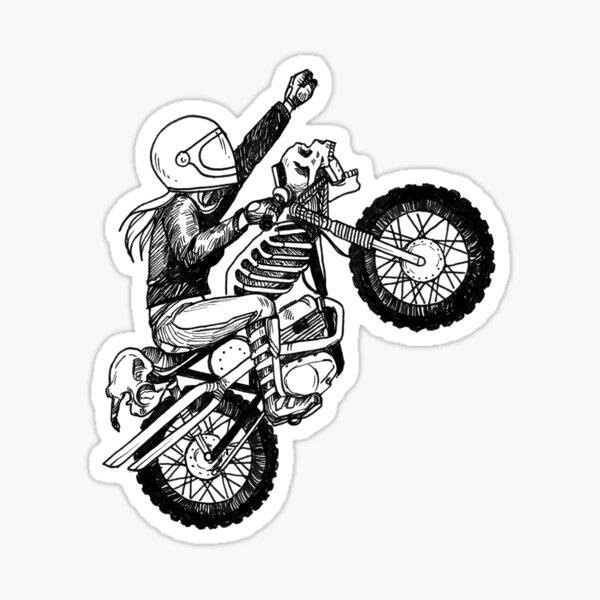 Women Who Ride - Dare Devil Sticker