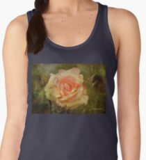 Damaged ~ a Rose with a Message Women's Tank Top