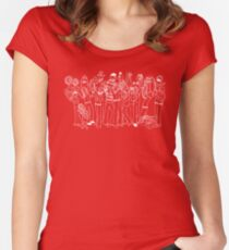Muppeteers! Women's Fitted Scoop T-Shirt