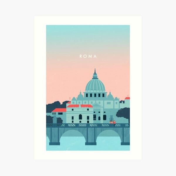 Rom Travel Poster Kunstdruck