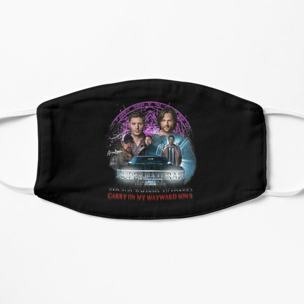 Limited Edition Supernatural Family dont end with Blood Season 15S Mask