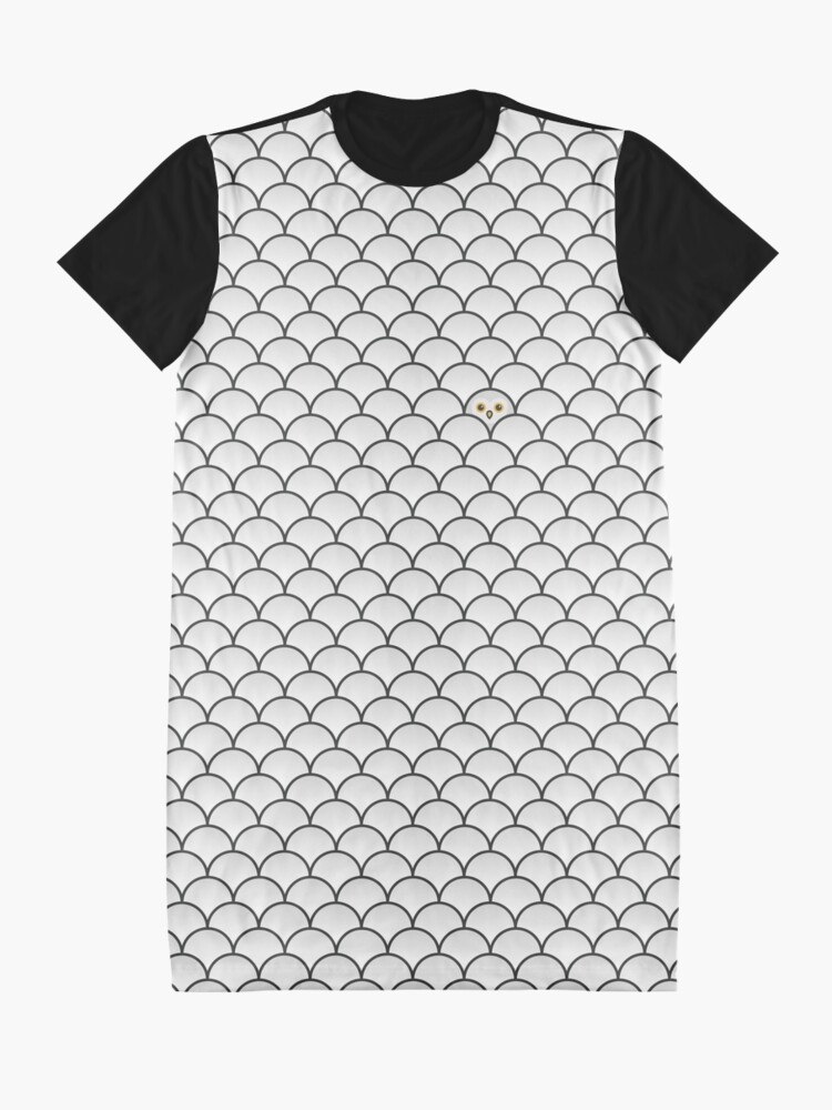 Alternate view of The Last… Snowy Owl Graphic T-Shirt Dress