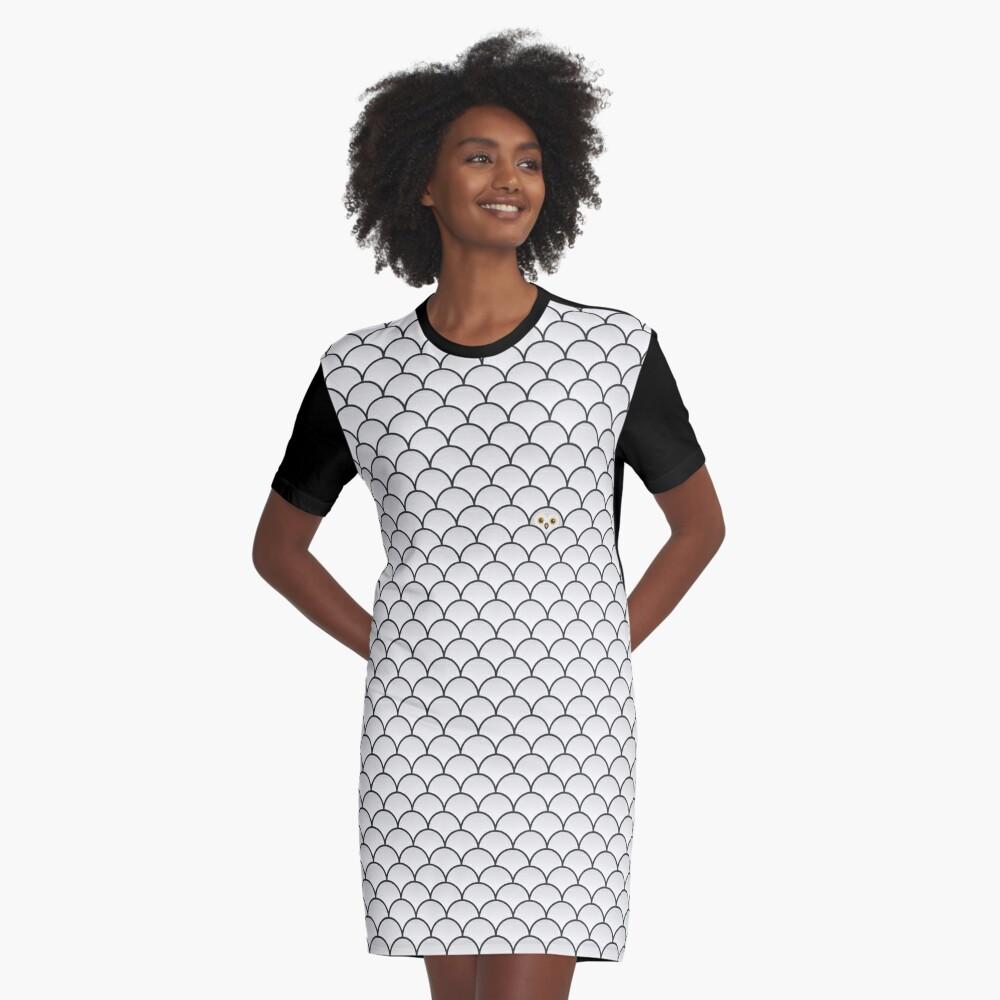The Last… Snowy Owl Graphic T-Shirt Dress