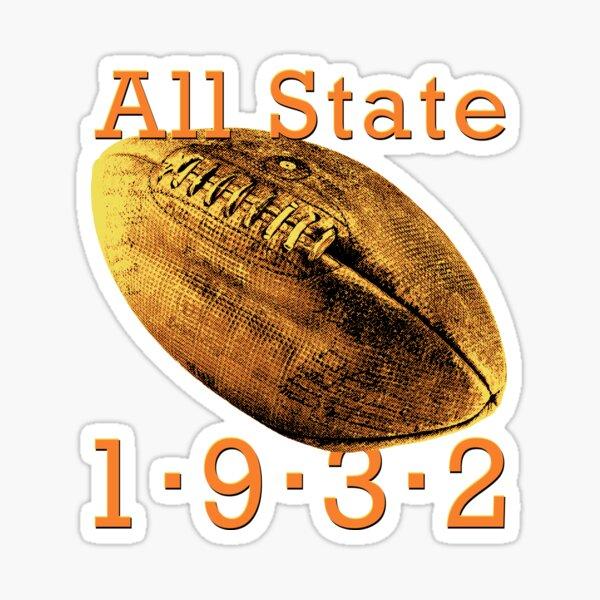 Vintage All State 1932 Sticker