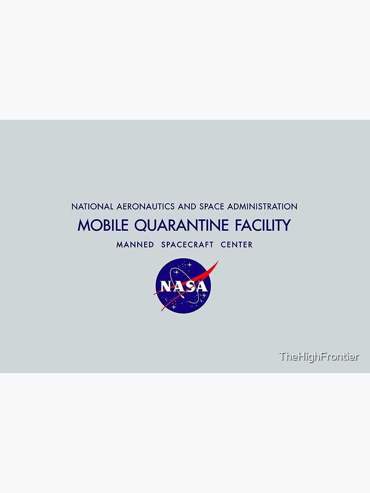 NASA Mobile Quarantine Facility Mask by TheHighFrontier