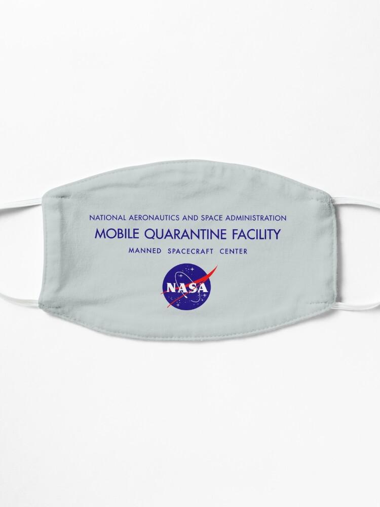 Alternate view of NASA Mobile Quarantine Facility Mask Mask