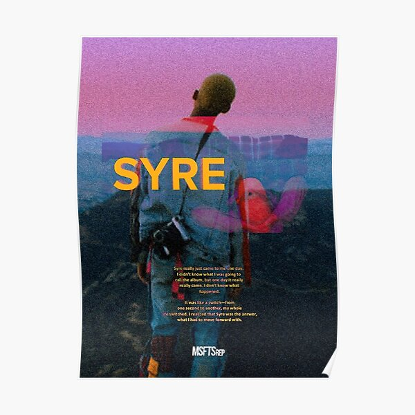 Jaden Smith - SYRE Poster
