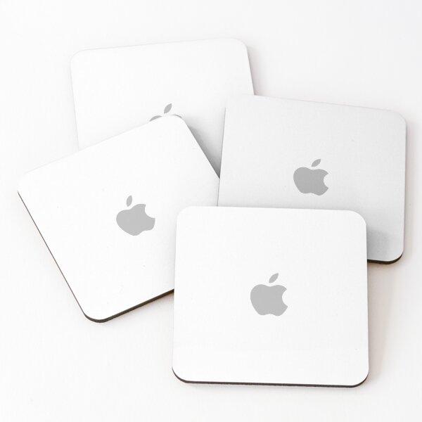 Apple Logo Coasters (Set of 4)