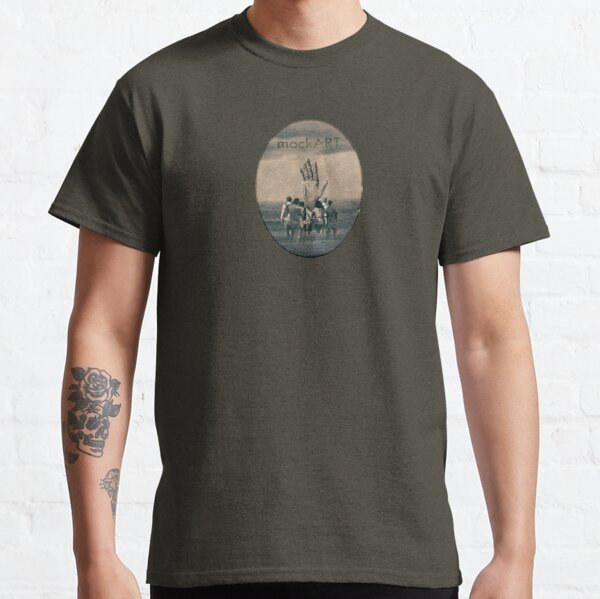 mockART - The Hand in the Water Classic T-Shirt