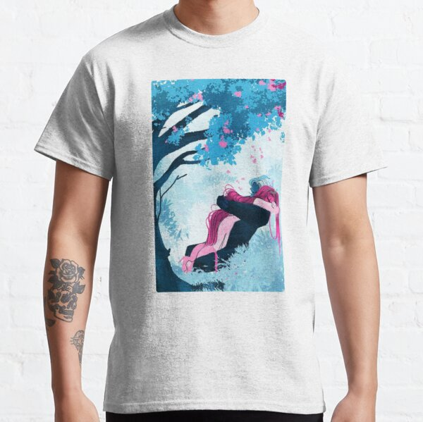 Lore olympus Persephone and Hades  Classic T-Shirt