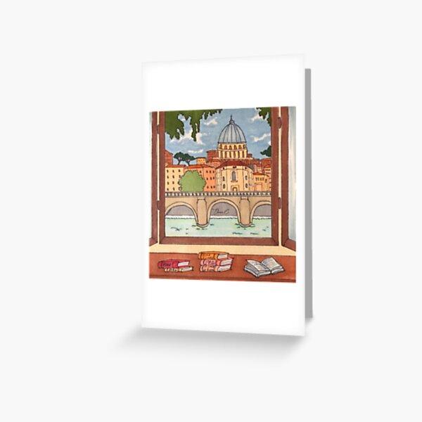 The Roman Quarantine - Er Cuppolone Greeting Card