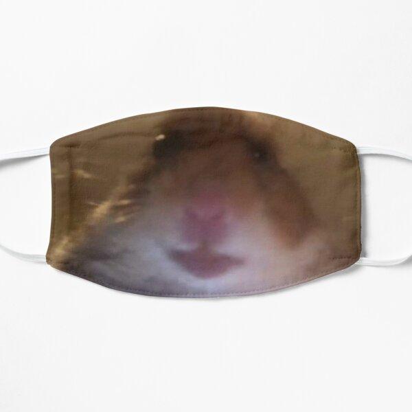 hamster meme  Flat Mask