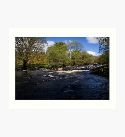 West Dart  Art Print