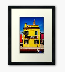 Lego House Framed Print