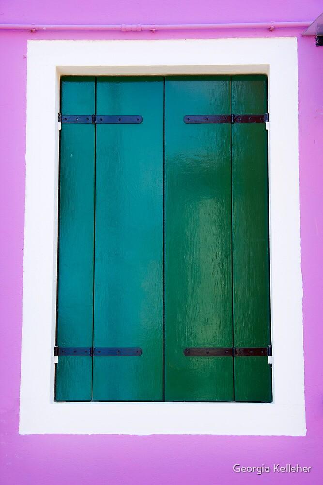 Green and Purple by Georgia Kelleher