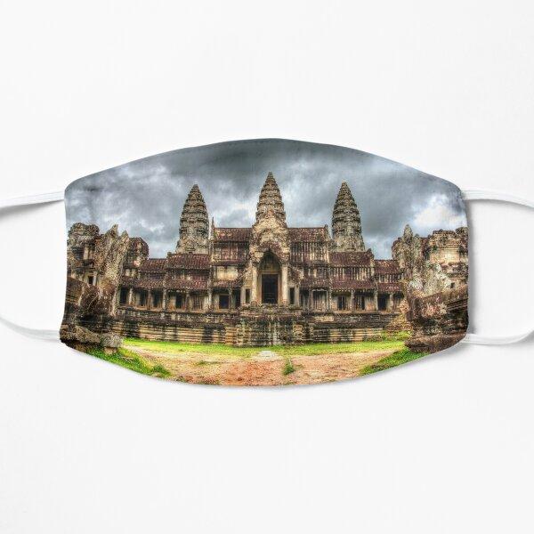 Angkor Wat Khmer Temple Cambodia Flat Mask