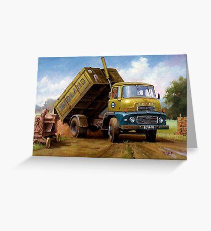 Dodge tipper. Greeting Card