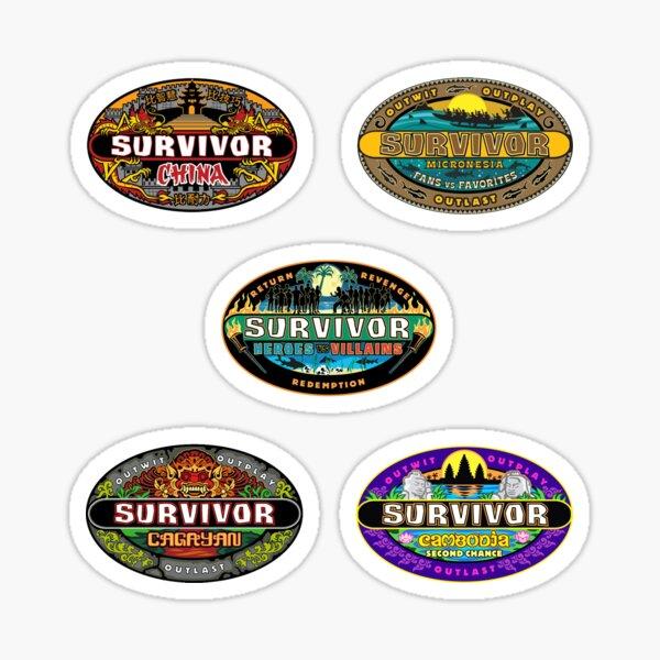 survivor favourites Sticker