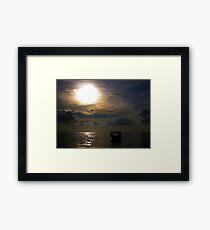 Day For Night Framed Print