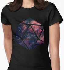 D20 Fairy Dust Women's Fitted T-Shirt