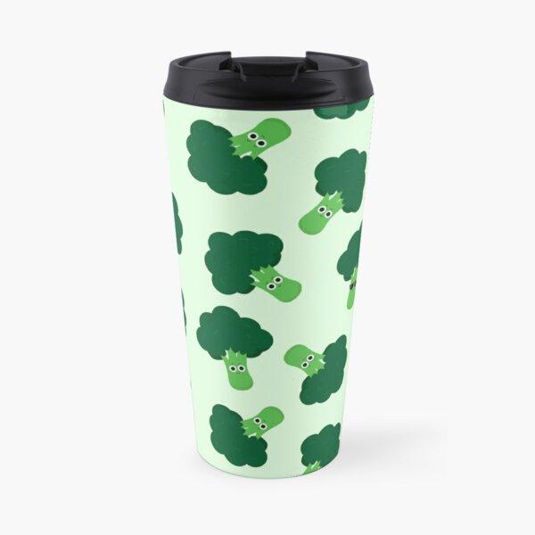 Happy Broccoli Travel Mug