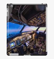Cockpit overview iPad Case/Skin