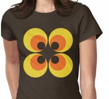 70s Wallpaper Womens Fitted T-Shirt