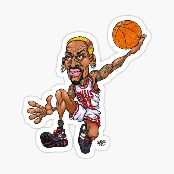 Rodman Sticker
