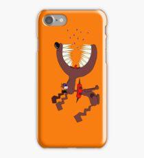 Angry DOG orange iPhone Case/Skin