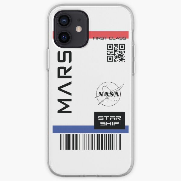 Best Seller - Star ship ticket to mars  iPhone Soft Case