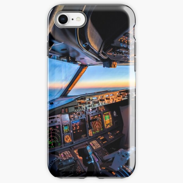 flying towards the night iPhone Tough Case