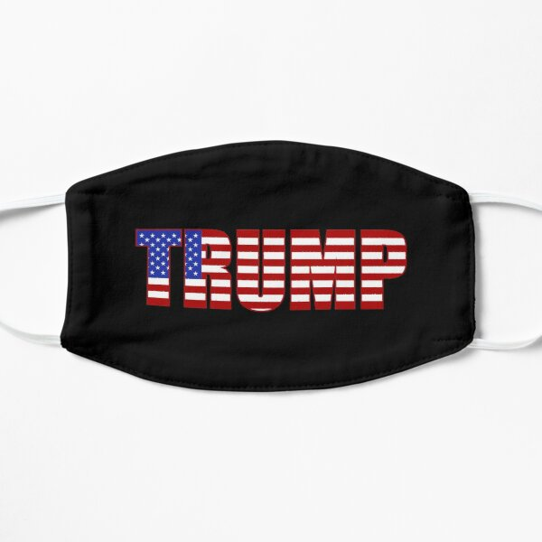 Donald Trump American Flag Patriotic Fourth of July USA Mask