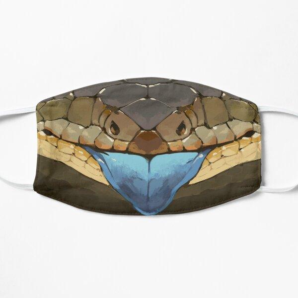 Blue Tongue Mask Flat Mask