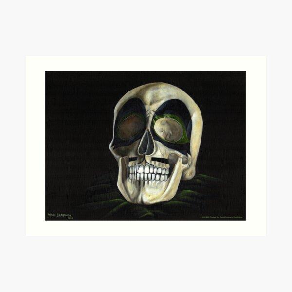 KISS Skull: The Catman Art Print
