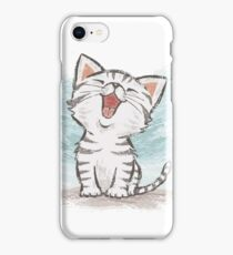 American Shorthair happy iPhone Case/Skin