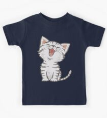 American Shorthair happy Kids Tee