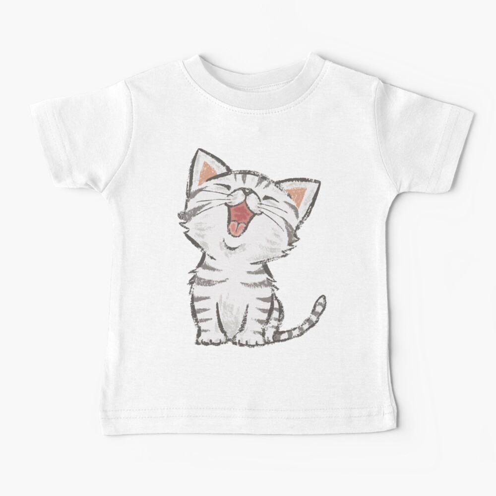 American Shorthair feliz Camiseta para bebés