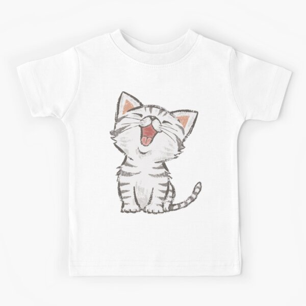 American Shorthair happy Kids T-Shirt