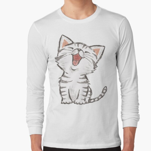 American Shorthair happy Long Sleeve T-Shirt